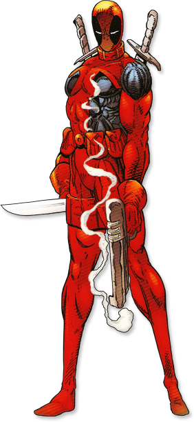 Deadpool by Rob Liefeld