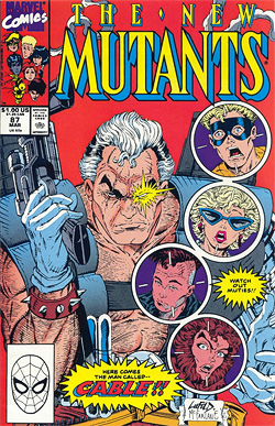 New Mutants 87, the first full apperance of Cable.
