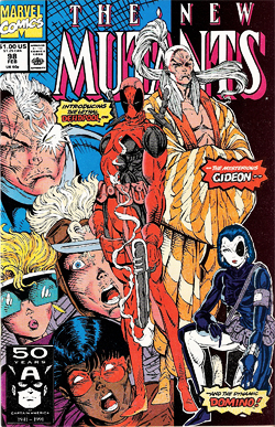 New Mutants 98, published by Marvel Comics in 1991.